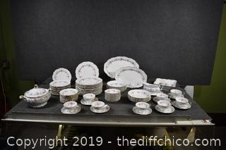 78 Pieces of Edelstein China Made in Germany