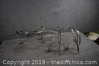 2 Decorative Pieces of Wrought Iron