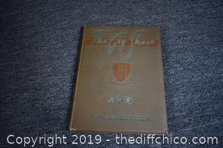 1943 Army Flying School Year Book