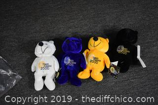 Time Square 2000 Collectible Bears
