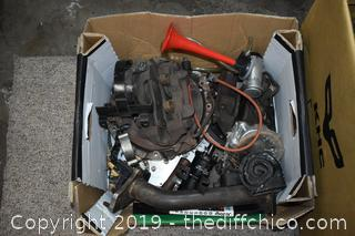 Car Parts, Manifolds and More-see pictures