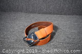 Puma Leather Belt - Size M