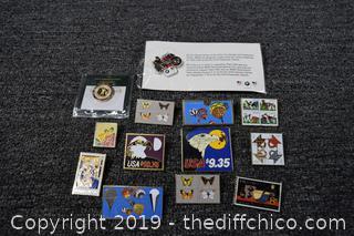 U.S. Postal Collectible Pins