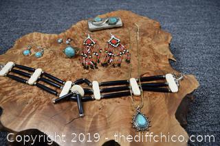 Found @ the Estate Tribal Jewelry