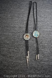 Two Bolo Ties