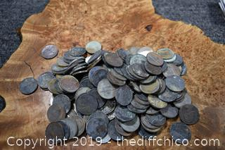 Coins from Camp Fire in Paradise
