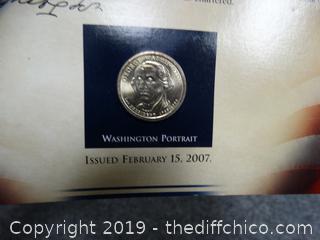 George Washington coin