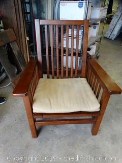 Adjustable Wood Chair