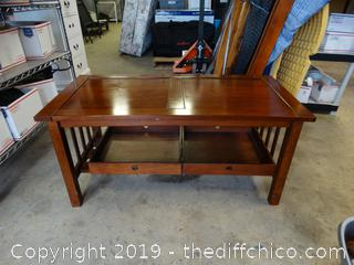 """Wood Coffee Table T-20"""" W-44"""" D-22"""""""