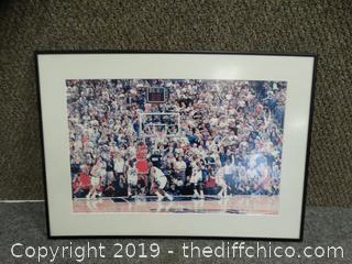Michael Jordan Framed Picture
