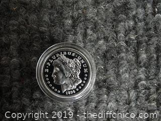 One Gram .999 Silver Coin
