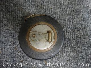 25 Foot Vintage Steel Tape Measure