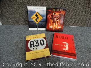Rush DVD's