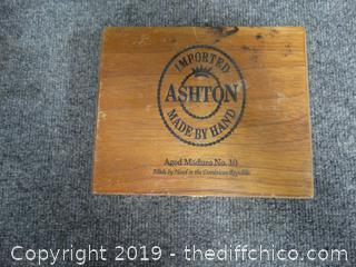Ashton Cigar Box