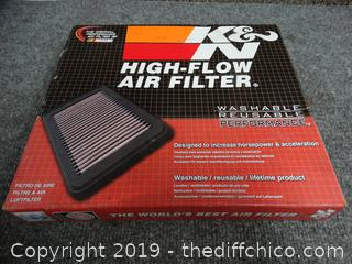 K & N Air Filter F250 4X4 NEEDS CLEANED