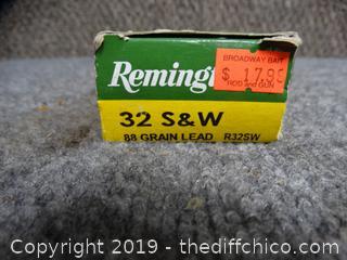 Remington  32 S&W 88 Grain Ammo