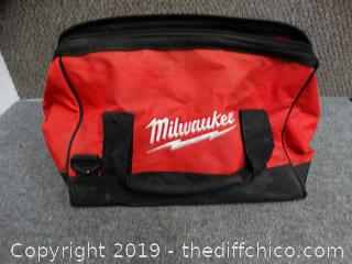Milwaukee Tool Bag With Contents