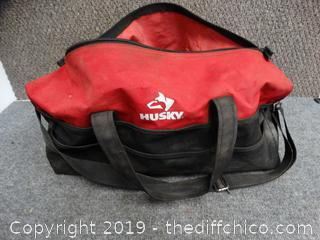 Husky Tool Bag with Contents
