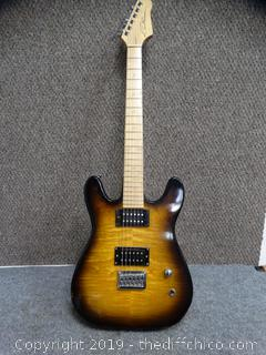 Electric Guitar Signed By Unknown
