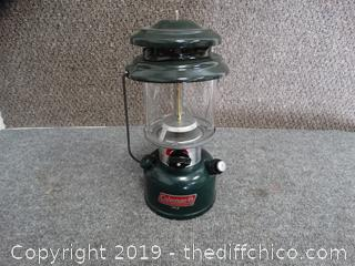 Coleman Lantern (missing top nut)
