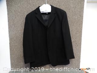 Large Pronto uomo Suit Jacket