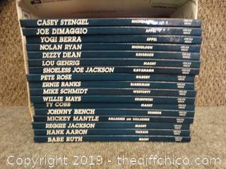 Baseball Legends Books