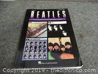 Beatles Guitar Book Of Music