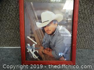Mark Chestnut Autographed Pic