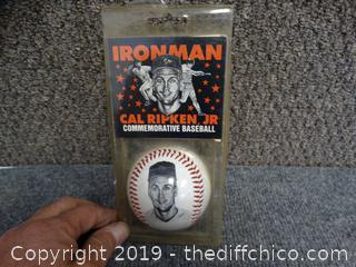 CAL Ripken JR Commemorative Baseball