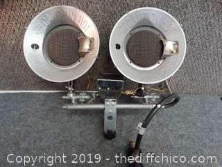Propane Heater top works