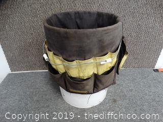 Bucket With tool Caddy