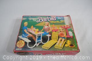 Barbie Picnic Set