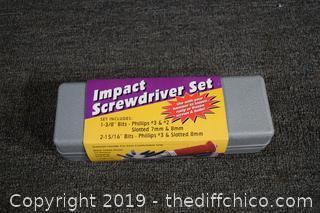 Impact Screwdriver Set