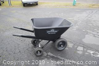 Awesome Ground Work Pro Series Wheel Barrel