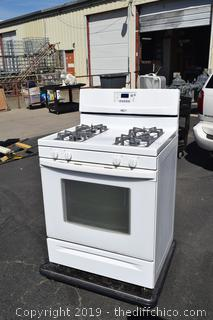 Whirlpool Gas Stove-right out of house