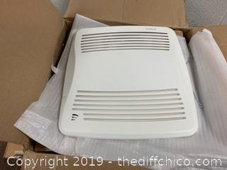 NuTone QTXEN110 110 CFM 0.7 Sone Ceiling Mounted Bath Fan (J1)