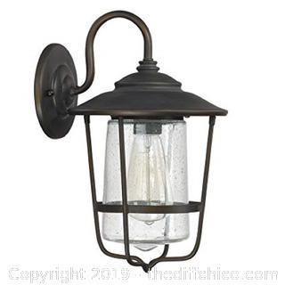 "Capital Lighting 9601OB Creekside Single Light 13"" Tall Outdoor Wall Sconce (J17)"