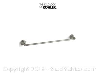 Kohler K-10551-BN Devonshire 24 Inch Towel Bar Brushed Nickel (J22)