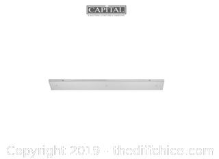 "Capital Lighting PENDANTPN-32 32"" Wide 3 Port Canopy Polished Nickel (J24)"