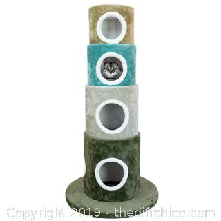 Frontpet Multi Color Stackable Cat Tree (J5)