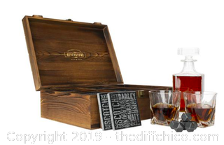 Atterstone Classic Whiskey Decanter Box Set J16)