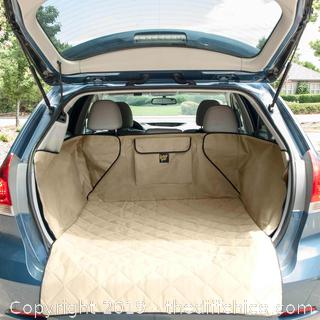 Frontpet SUV Pet Cargo Liner With Quilted Top - Tan (J20)
