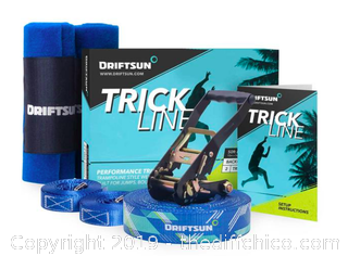 Driftsun 50ft Complete Trickline Intermediate Kit (J22)