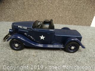 Police Decanter Car