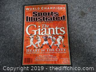 SF Giants Sports Illustrated