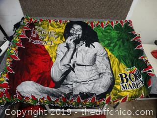 Bob Marley Blanket /Wall Hanging