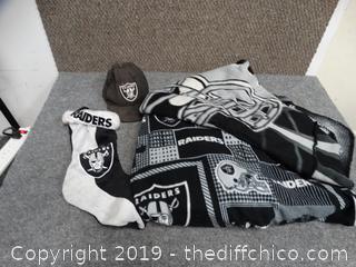 Raiders Blanket, Robe, Stocking