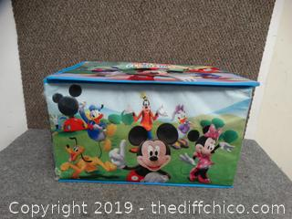 Mickey Mouse Foldable Toy Box