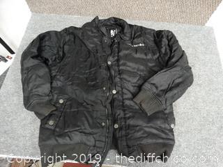 Akademiks Leather Jacket XL