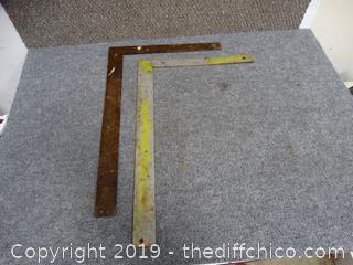 Metal Measuring sticks
